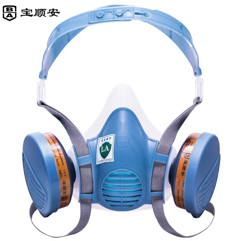 宝顺安防毒面具 M3401+2301套装