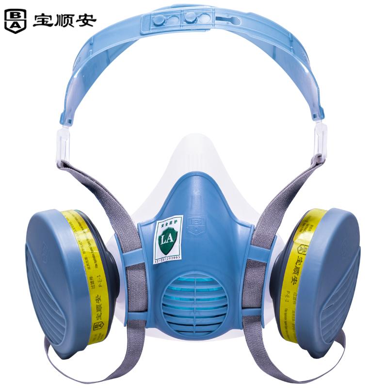 宝顺安防毒面具 M3403+2301套装